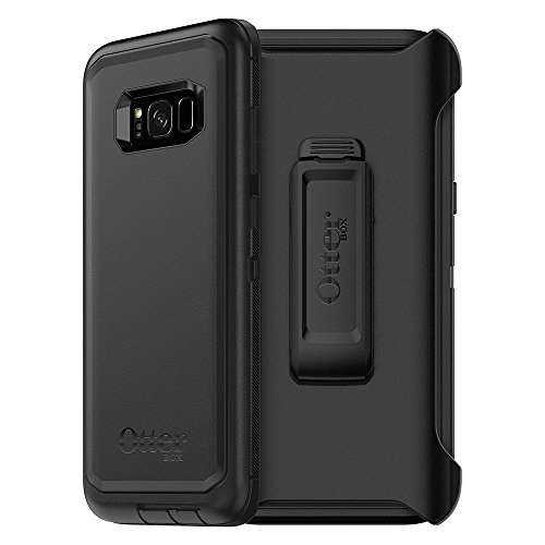Multi Design Layer - OtterBox DEFENDER SERIES for Samsung Galaxy S8+ (SCREEN PROTECTOR NOT INCLUDED) - Retail Packaging - BLACK