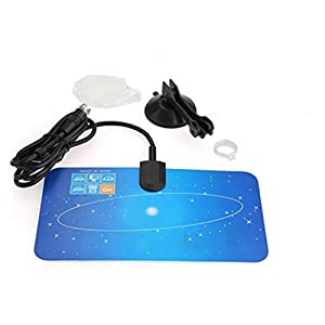 Digital Indoor VHF UHF Ultra Thin Flat TV Antenna for HDTV 1080p DTV HD Ready XG