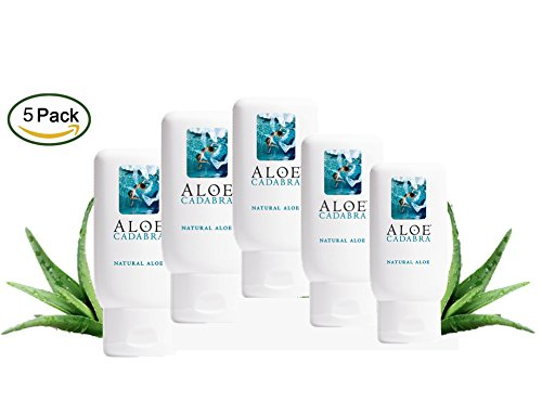 Unscented Natural Aloe (Aloe Cadabra Organic Vaginal Moisturizer - Best Natural Personal Lube - Looking for Relief of Dryness, Itching, Burning, Chafing, Painful Sex - Unscented, 2.5 Oz (Pack of 5))