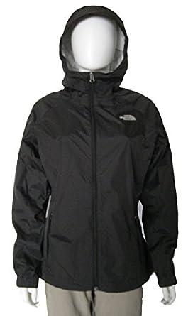 Amazon.com: The North Face Pare Womens Rain Jacket TNF BLACK (XL ...