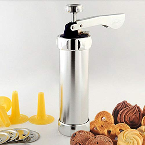 FidgetFidget Cookie Biscuits Press Machine Kitchen Tool Cake Decorating Biscuit Maker 20 Mold