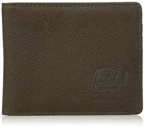 Herschel Supply Co. Unisex-Adult's Roy + Tile, brown Pebbled nubuck, One Size