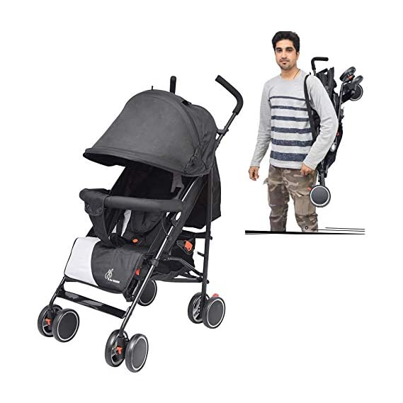 R for Rabbit Twinkle Twinkle Stroller Compact Travel Friendly Pram for Baby Kids Infants New Born Boys Girls of 0 to 3