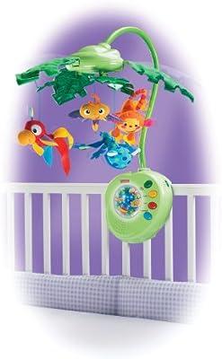 Fisher-Price - Móvil para cuna de hojas: Amazon.es: Bebé