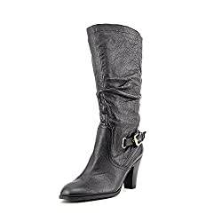 GUESS Mallay Women's Mid Calf Slouchy Boots, Black, Size 9.5