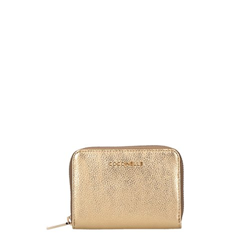 Coccinelle wallet small wih coin holder Metallic Soft gold