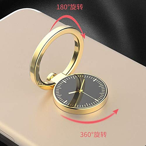 50pcs Pocket Watch Design Metal Alloy Finger Ring Holder for Cell Phone Mount 360 Degree Rotating Mobile Phone Finger Ring Stand