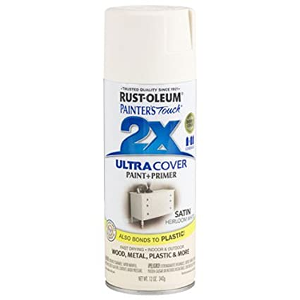 Rust Oleum 249076 Painters Touch 2x Ultra Cover 12 Ounce Satin