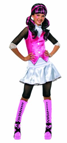 [Monster High Draculaura Costume - Small] (Cool Halloween Costumes For Three Girls)