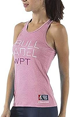 Bull padel Camiseta BULLPADEL ZAMAR Rosa Mujer: Amazon.es ...