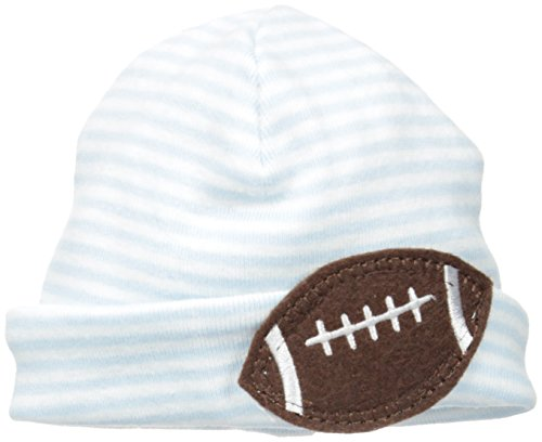 Mud Pie Baby-Boys Felt Football Hat, Blue, New Born