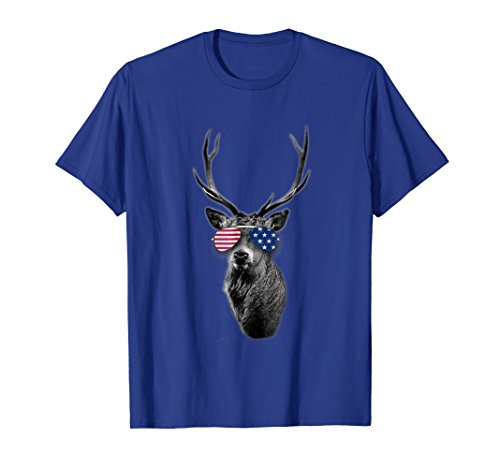 Price comparison product image Independence day 4th of july buck t-shirt bestseller