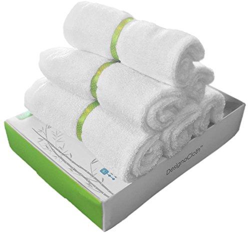 DesignoCloth Irresistibly Soft Washcloths Natural Sensitive product image
