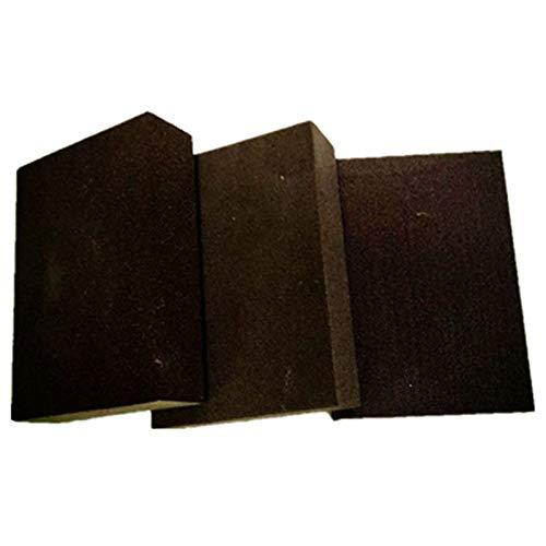 XZANTE 400# Schwamm Sand Block Holzbearbeitung Schleifschwamm Sand Block-100x70x25mm