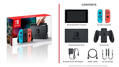 Nintendo Switch – Neon Red and Neon Blue Joy-Con - HAC 001 (Discontinued by Manufacturer) 7