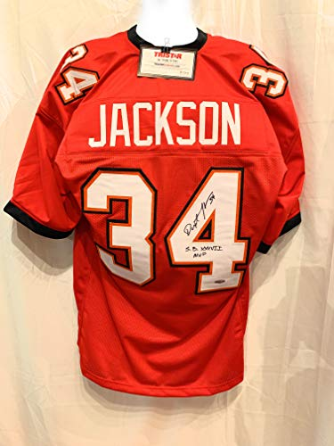 Dexter Jackson Tampa Bay Buccaneers Signed Autograph Custom Jersey Super Bowl MVP Inscribed Tristar Authentic Certified