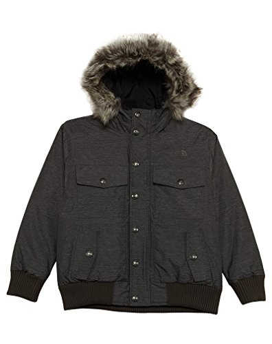 The North Face Boys' Gotham Down Jacket - graphite gray heather, m/10-12 by The North Face