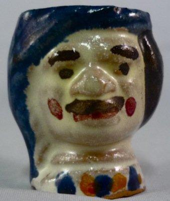Vasetto in ceramica di Caltagirone.