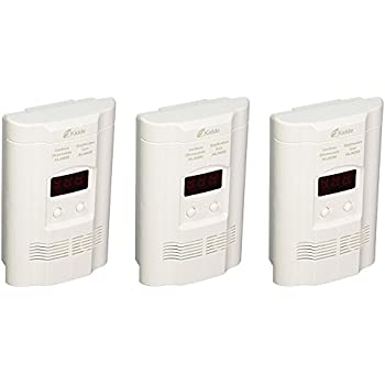 Plug-In CO//Gas Combination Alarm with Battery Backup ORS-NASCO Kidde 408-900-0113-02 AC Powered