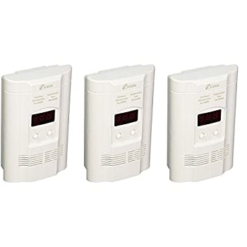 Image of Home Improvements Kidde KN-COEG-3 Nighthawk Plug-in Carbon Monoxide and Explosive Gas Alarm with Battery Backup (Pack of 3)