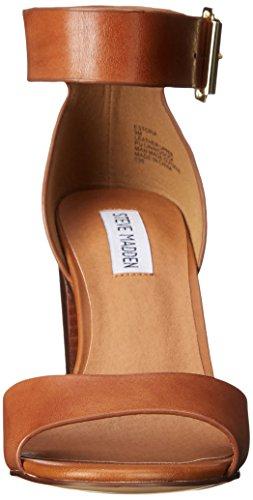 Steve Madden ESTORIA - Sandalias de tacón Mujer Cognac Leather