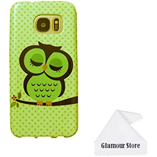 Galaxy S7 Edge Case,Owl Printed Design TPU Case Cover Skin Protective For Samsung Galaxy S7 Edge With A Free Cleaning Sales