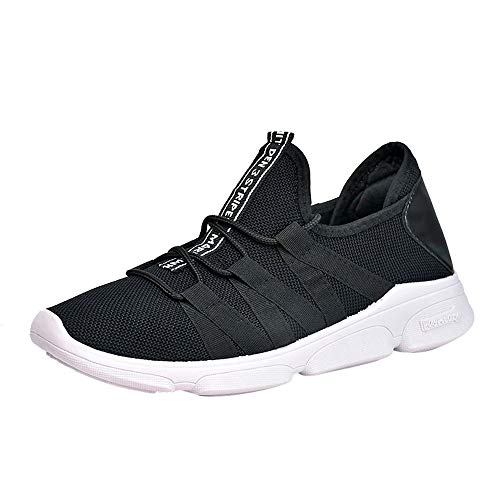 Men Outdoor Mesh Cross Tied Breathable Running Shoes Gym Sport Shoes Casual Shoes Sneaker