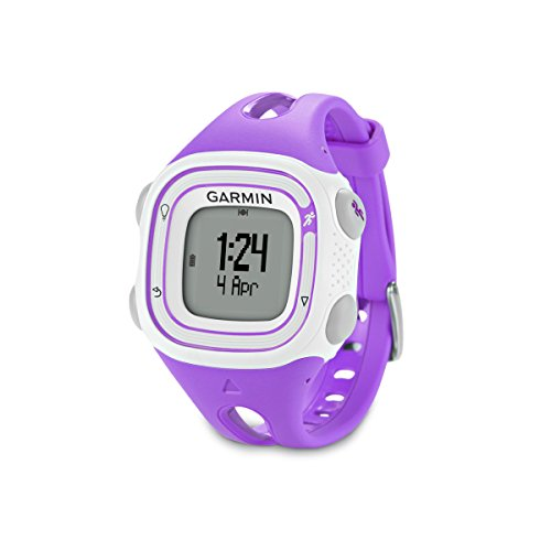 Garmin Forerunner 10 GPS Watch (Violet) (Certified Refurbished) by Garmin