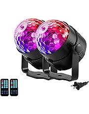 Disco Ball Light LED Disco Ball Party Light RGB Stage Lights for Disco DJ Party Karaoke Wedding Club Bar