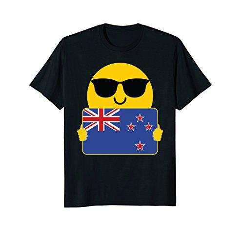 Mens New Zealand Shirt Sunglasses T-Shirt Tee 2XL - New Sunglasses Zealand