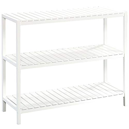 Sauder Cottage Road Console, White finish (Table With Wicker White Baskets Console)