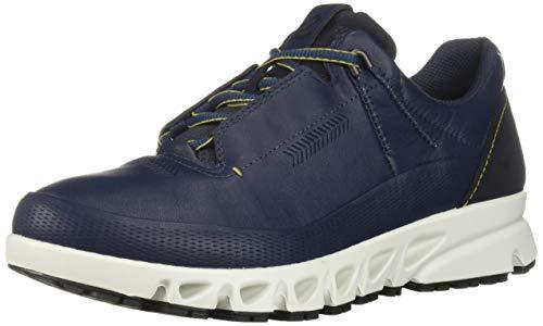 ECCO Men's Omni-Vent GORE-TEX waterproof Hiking Shoe, true navy, 45 M EU (11-11.5 US)