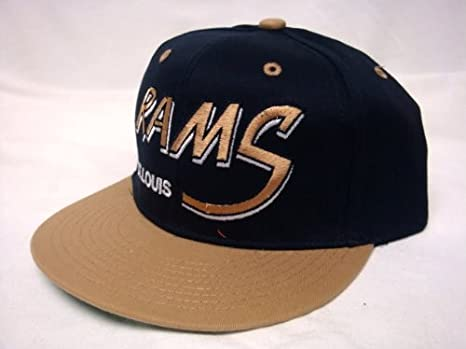 Amazon.com   NEW St. Louis Rams NFL Two Tone Vintage Snapback ... cbbb03e74