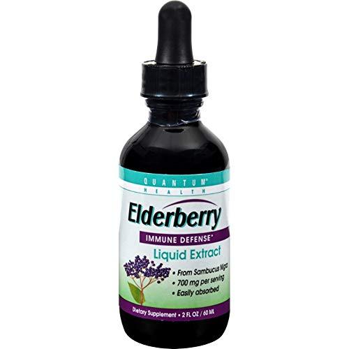 QUANTUM HEALTH Elderberry Extract, 2 FZ ()
