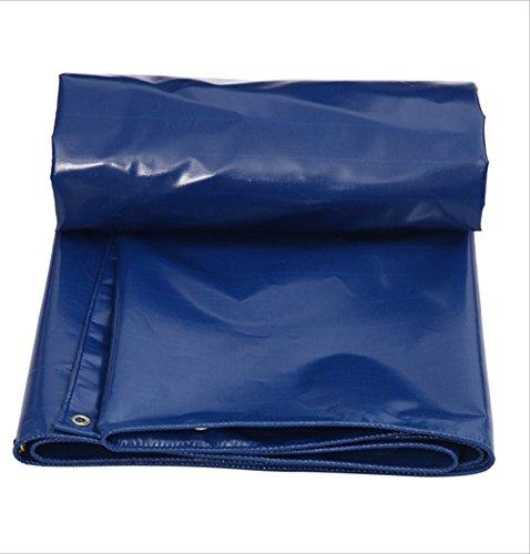 YANGFEI 防水シート ターポリンブルー/グリーン/ホワイト3色防水、日焼け止め、日除け、防雨布カスタマイズ可能、防水、耐久性、腐食防止、天蓋布 耐久性に優れています B07F6ZXCCW 5*6m|A A 5*6m