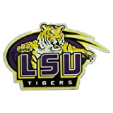 NCAA Louisiana State Fightin Tigers Car Magnet Oval (Large, 2 Pack)