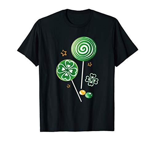 Cute Lolli Pop Lollipop Candy Sweets Shirt St Patricks Day