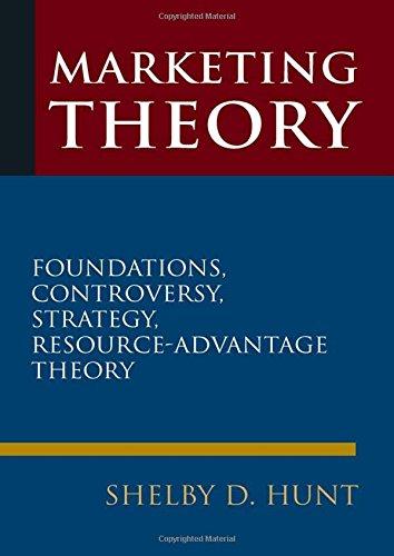 Marketing Theory: Foundations, Controversy, Strategy, and Resource-advantage Theory (Marketing Advantage)