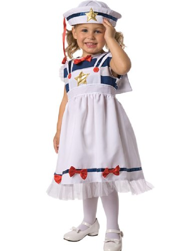 Sweet Sailor Child Costume Size 3-4 Toddler