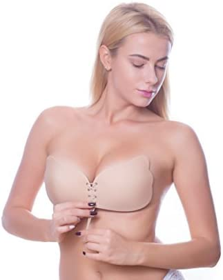 ffa8884ae7 This strapless pushup bra is so comfortable that you will hardly even  notice you re wearing it. It s made of super soft spandex   polyester that give  you ...