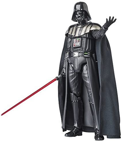 Amazon Com Mafex Mafekkusu Darth Vader Star Wars Episode Iii Revenge Of The Sith Non Scale Abs Atbc Pvc Painted Action Figure Toys Games