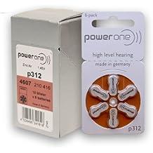 Amazon.com: power one p312 hearing aid battery