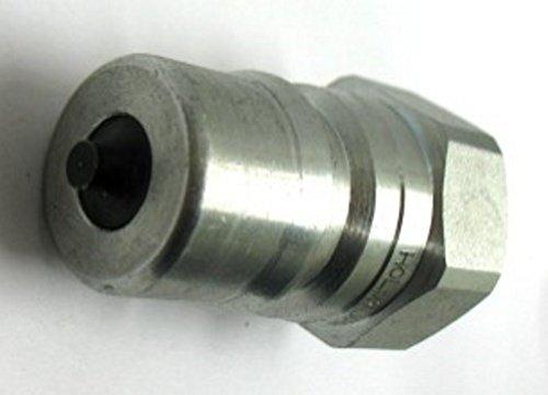Holmbury IB06-M-04N 1//4 Male Nipple 1//4 Female Pipe QC H2-63