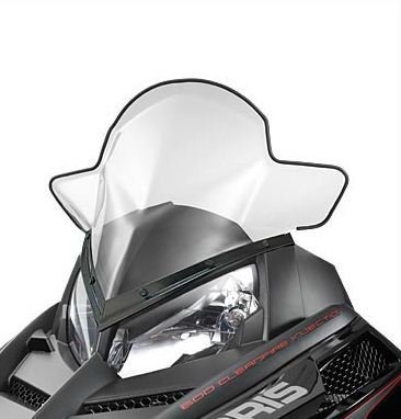 Polaris Snowmobile RUSH Mid Windshield. 2877841 by Polaris