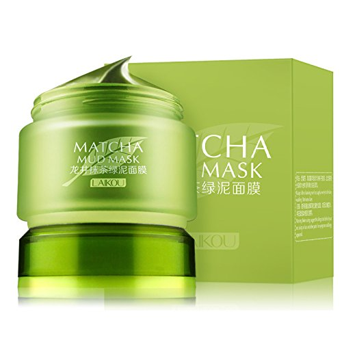 Organic MATCHA Green Tea Face Mask, Green Tea Matcha Facial