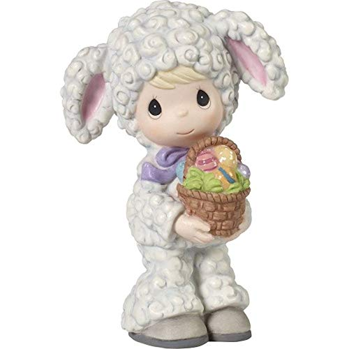 (Precious Moments Ewe are Loved Girl Dressed As Lamb Multi)