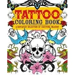[Tattoo Colouring Book: A Fantastic Selection of Exciting Imagery] (By: Arcturus Publishing) [published: September, 2013]