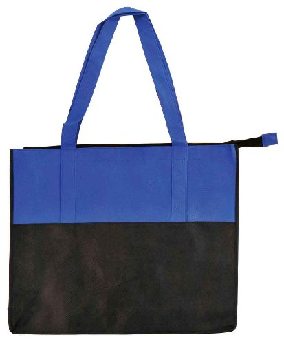 DALIX Reuseable Zippered Recycled Promotional
