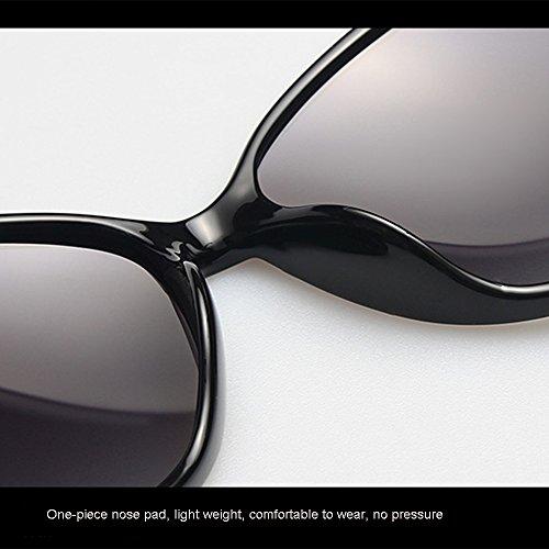 Women De Metal Conducir Marco UV Beach Aviator para Sunglasses Fashion Polarized 400 Protegido Travel ZDQ Fashion wXYqCxgX