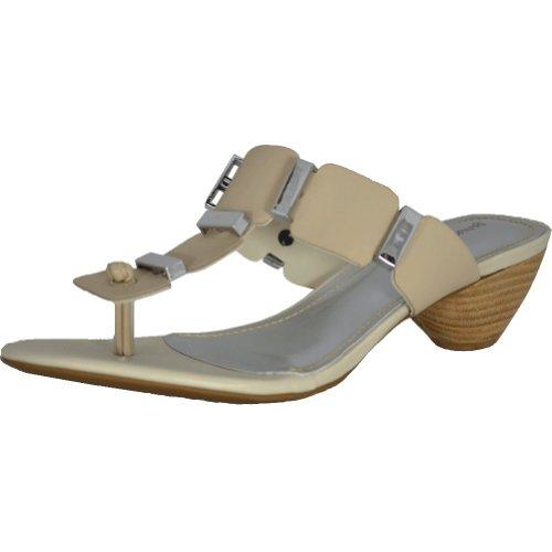 Bruno Menegatti 7054 Womens Skinn Sandal Off-white